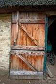 Travel photography:Barn door, Germany