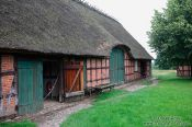Travel photography:Old 18th century farm houses, Germany