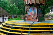 Travel photography:Old merry-go-round (carousel), Germany