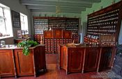 Travel photography:Old 18th century rural pharmacy, Germany