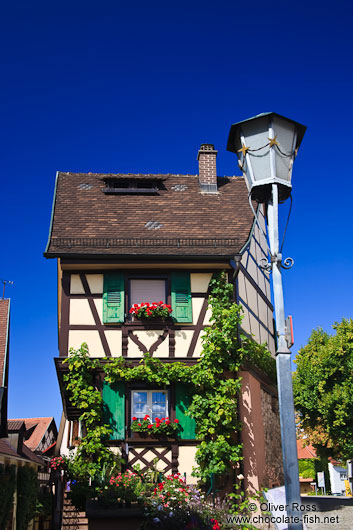 Half-timbered house in Gengenbach
