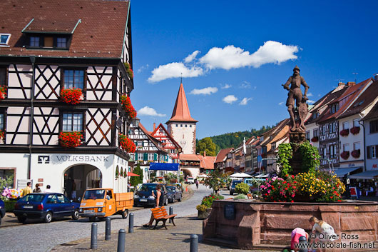 Main town square in Gengenbach