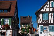 Travel photography:Half-timbered houses in Gengenbach , Germany