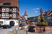 Travel photography:Main town square in Gengenbach, Germany
