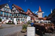 Travel photography:Houses in Gengenbach , Germany