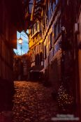Travel photography:Gengenbach at dusk, Germany