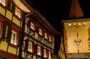 Travel photography:Gengenbach by night, Germany