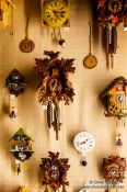 Travel photography:Gengenbach Cuckoo clocks, Germany
