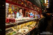 Travel photography:Gengenbach Christmas market stall, Germany