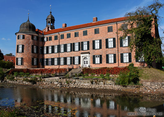 View of Eutin castle with moat
