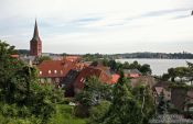 Travel photography:Plön panorama, Germany