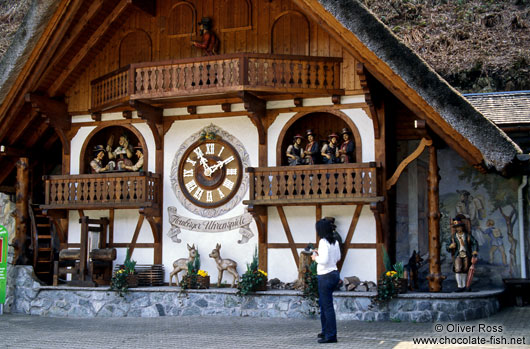 Giant Cuckoo Clock in the Black Forest