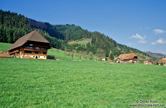 Old Farm houses in the Black Forest