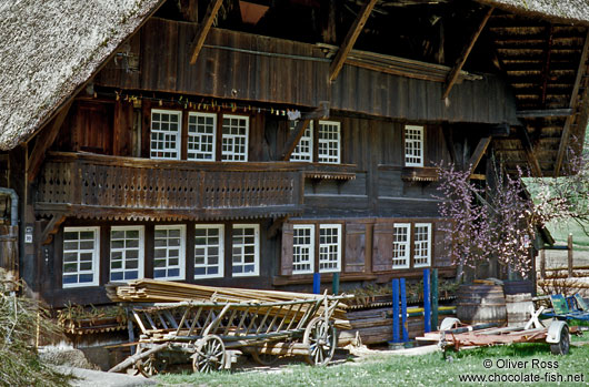 Old traditional farm house in the Black Forest