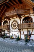 Travel photography:Giant Cuckoo Clock in the Black Forest, Germany