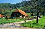 Travel photography:Black Forest farm house near Ortenberg, Germany