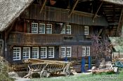 Travel photography:Old traditional farm house in the Black Forest, Germany