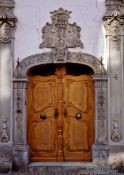Travel photography:Old door in Constance (Konstanz), Germany