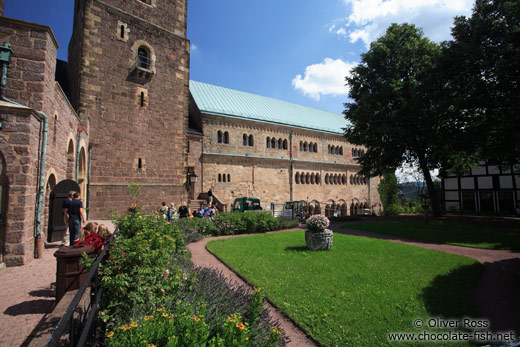 Courtyard of the Wartburg Castle