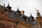 Travel photography:Roof detail in Erfurt, Germany