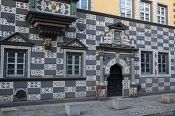Travel photography:The Haus zum Stockfisch in Erfurt, Germany