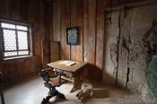 Travel photography:Martin Luther`s room on the Wartburg, Germany