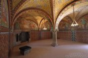 Travel photography:The Elisabethkemenate (Elisabeth`s chamber) on the Wartburg Castle, Germany