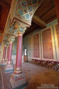 Travel photography:Columns in the Sängersaal (Singer`s chamber), Germany