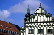 Travel photography:Houses in Weimar, Germany