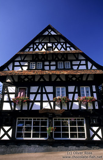 Traditional house in Sasbachwalden in the Black Forest