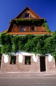 Travel photography:House in Sasbachwalden (Black Forest), Germany
