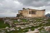Travel photography:The Erechtheum on the Athens Akropolis, Greece