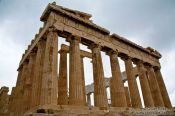 Travel photography:The Parthenon on the Athens Akropolis, Greece