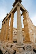 Travel photography:The Old Temple of Athena on the Athens Akropolis, Greece