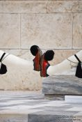 Travel photography:Shoes of the guards at the Monument of the Unknown Soldier in Athens - Tsolias, Greece