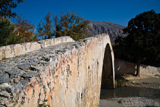 Old Venetian bridge near Preveli