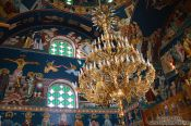 Travel photography:Inside the Garazo church, Grece