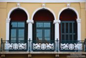 Travel photography:Facade detail in Iraklio (Heraklion), Grece
