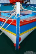 Travel photography:Boat in Iraklio (Heraklion) harbour, Grece