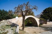 Travel photography:Old Venetian bridge near Preveli, Grece