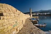 Travel photography:Rethymno harbour, Grece