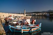 Travel photography:Boats in Rethymno harbour, Grece