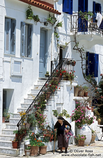 Traditional house in Parga