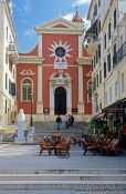 Travel photography:Church in Corfu, Greece