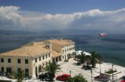 Travel photography:Faliraki complex Corfu, Greece