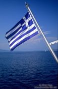 Travel photography:Greek flag, Greece