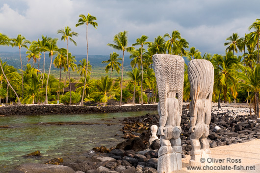 Guardians at Pu`uhonua o Honaunau