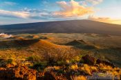 Travel photography:Craters on the slopes of Mauna Kea on Hawaii, Hawaii USA