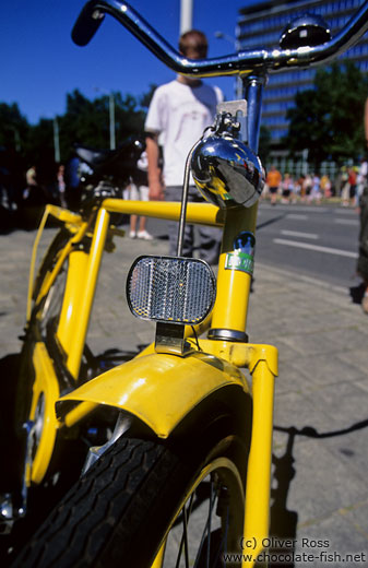 Yellow bicycle in Eindhoven
