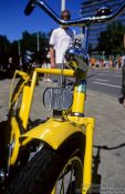Travel photography:Yellow bicycle in Eindhoven, Holland (The Netherlands)